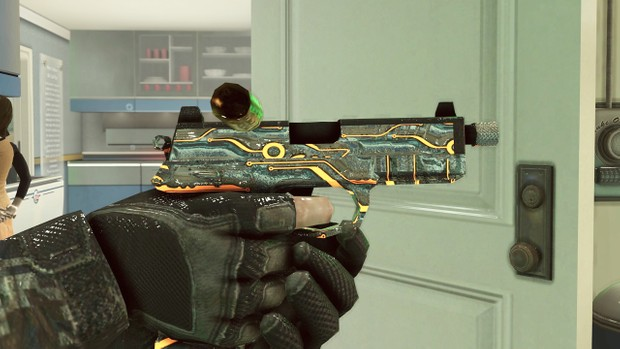 BO2/REDACTED SILVER CAMO PACK