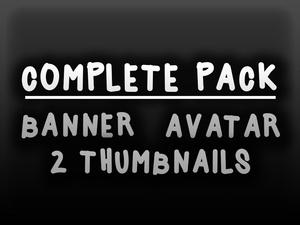 Complete pack [banner + logo + 2 thumbnails]