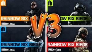 Rainbow Six Siege - YouTube Thumbnail Template Pack V3 - Photoshop