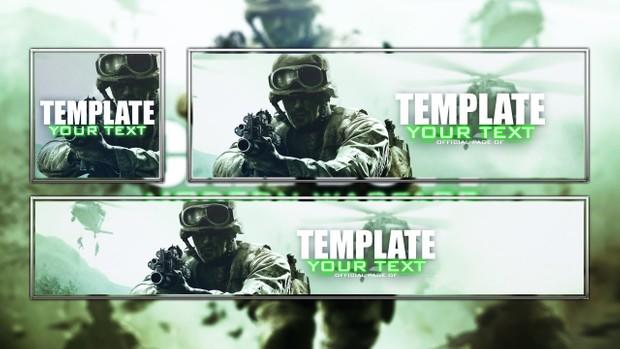 Modern Warfare - Remastered - Social Media Template Revamp Package