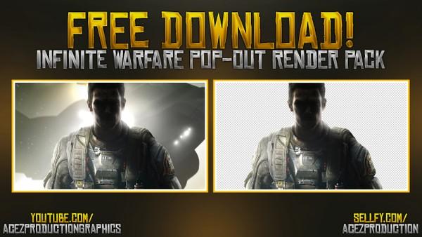 Infinite Warfare Cut Out Render Pack