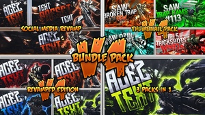 Social Revamp Pack + Thumbnail Pack V4 + Revamped Edition - Bundle Pack