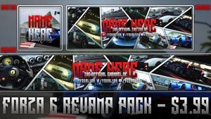 Forza Motorsport 6 - Social Media Revamp Pack - Avatar, Banner, Header