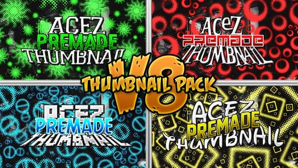 Thumbnail Pack V8 - Standard Text Edition