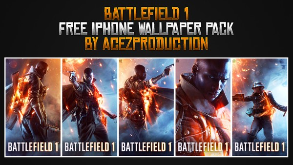 Battlefield 1 - iPhone Wallpaper Pack - Free Download