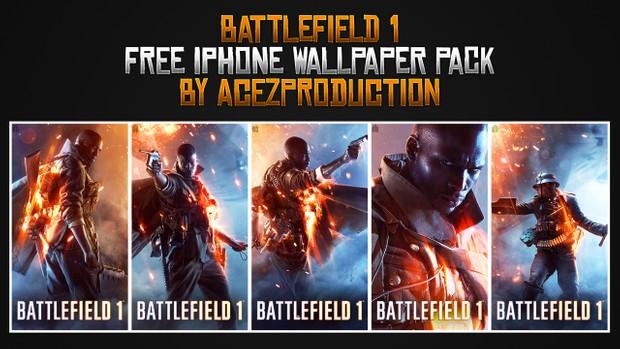 Battlefield 1 - iPhone Wallpaper Pack - Free Download