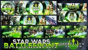 Star Wars Battlefront - Ultimate Revamp Pack - Rebellion Edition