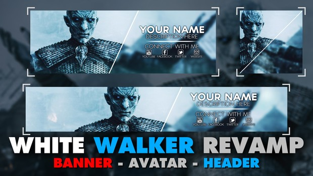 Game of Thrones - Revamp Pack - White Walker