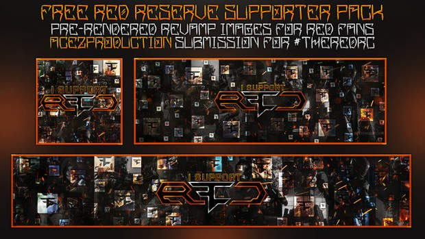 #RedRc - Free Supporter Revamp Pack