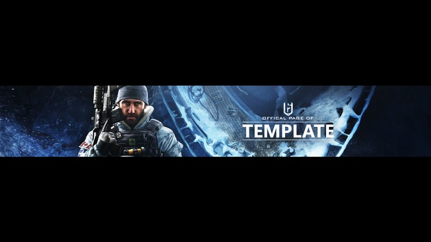 Rainbow Six Siege - Black Ice DLC - Revamp Template - Photoshop