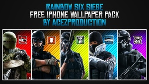 Rainbow Six Siege - iPhone Wallpaper Pack - Free Download