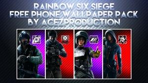 Rainbow Six Siege V2 - Phone Wallpaper Pack - Free Download