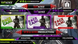 Stream Overlay Pack V1