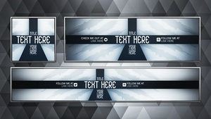 Social Media Revamp Pack V5 - Photoshop Template