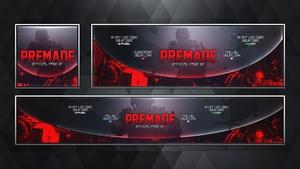 Social Media Revamp Pack V16 - Modern Warfare Remastered - Photoshop Template