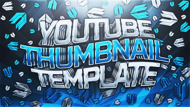 Clean YouTube Thumbnail Template Pack