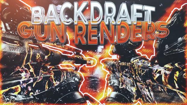 Backdraft Camo Render Pack