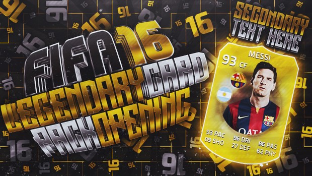Fifa 16 - Pack Opening Thumbnail Pack