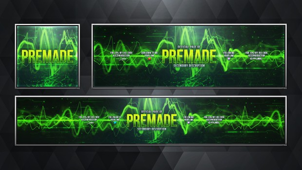 Social Media Revamp Pack V12 - Modern Warfare Remastered - Pre-made Design Service