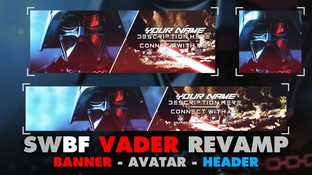 Star Wars Battlefront - Darth Vader - Revamp Pack