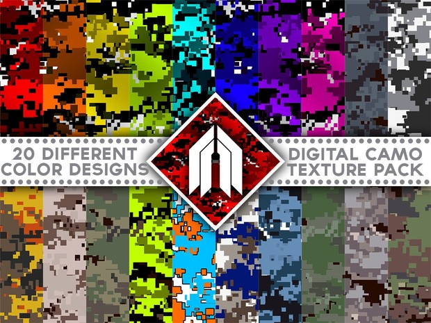 Camouflage Digital Pack