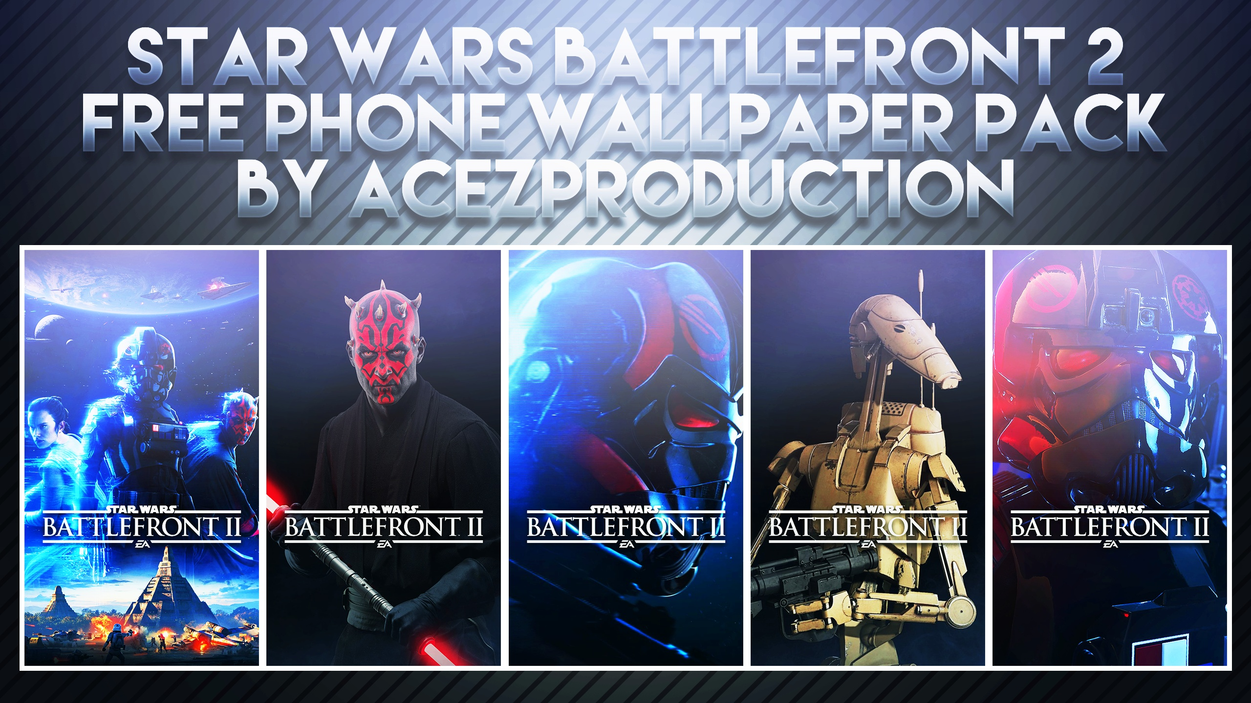 Star Wars Battlefront 2 Phone Wallpaper Pack Free Download