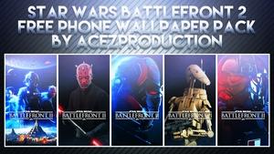 Star Wars Battlefront 2 - Phone Wallpaper Pack - Free Download