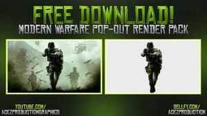 Modern Warfare Cut Out Render Pack