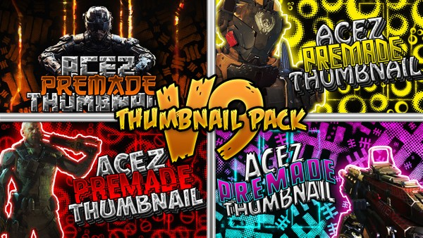 Thumbnail Pack V9 - Black Ops III Edition