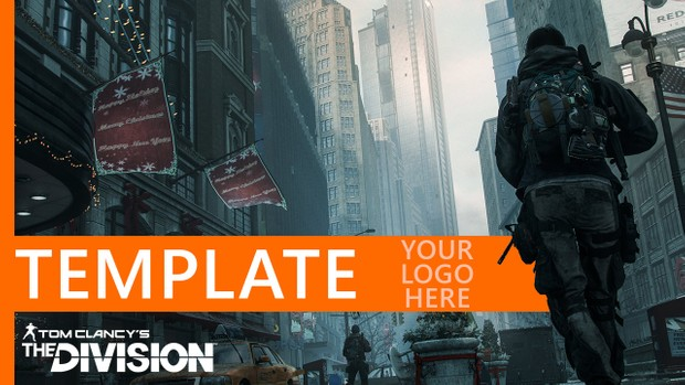 Tom Clancy's The Division - Ubisoft themed YouTube Thumbnail Template