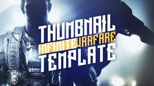 Infinite Warfare - YouTube Thumbnail Template