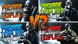 Rainbow Six Siege Ultimate Thumbnail Pack V2