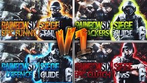 Rainbow Six Siege Ultimate Thumbnail Pack V1
