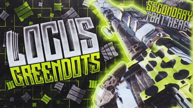 Locus - Green Dots - Black Ops 3 - Thumbnail Singles Pack