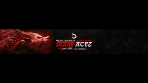 Wolf Youtube Banner Template