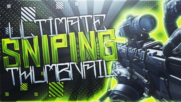 Ultimate Sniping Thumbnail Template Pack