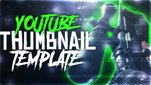 Ultimate Modern Warfare Remastered Thumbnail Template Pack V4