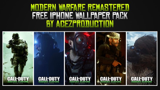 Modern Warfare Remastered - iPhone Wallpaper Pack - Free Download