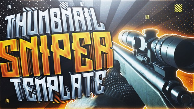 Modern Warfare Remastered - Thumbnail Template Pack V6 - Photoshop Template