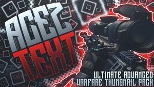 Ultimate Advanced Warfare Thumbnail Pack