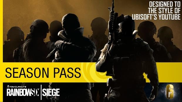 Tom Clancy's Rainbow Six Siege - Ubisoft themed YouTube Thumbnail Template