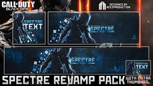Black Ops III - Spectre Revamp Pack + Thumbnail Template