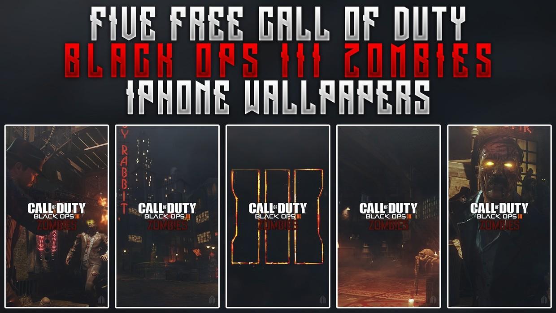 Black Ops Iii Zombies Iphone Wallpaper Pack Acez Graphics