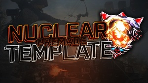 Black Ops 3 Nuclear Thumbnail Template - Photoshop Template