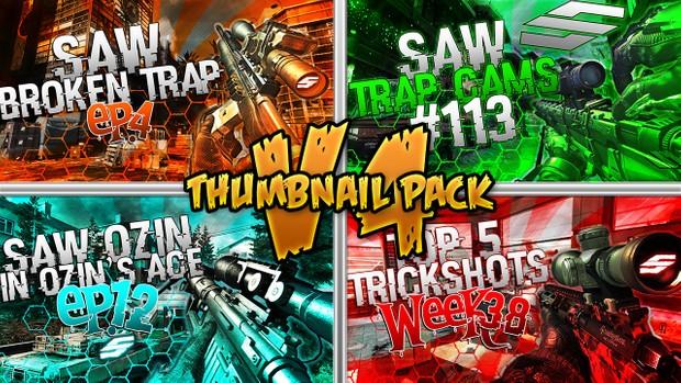 Social Revamp Pack + Thumbnail Pack V4 + Revamped Edition - Bundle Pack