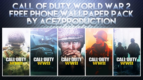 Call of Duty: World War 2 - Phone Wallpaper Pack - Free Download