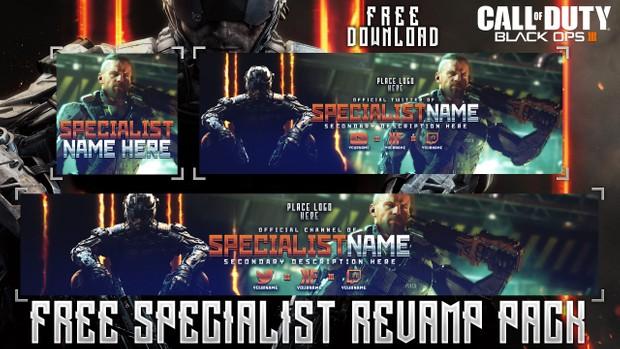 Black Ops III - Ultimate Social Media Revamp Pack - 8 Design in 1 Free Pack