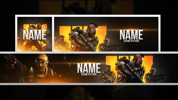 Black Ops 4 - Free Social Media Revamp Template Pack