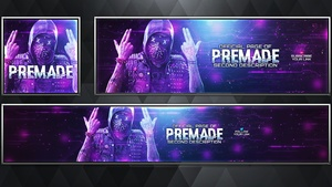 Social Media Revamp Pack V18 - Watch Dogs 2 - Photoshop Template