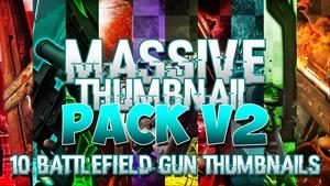 Massive Thumbnail Pack V2 - Battlefield